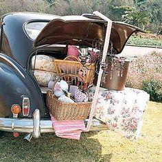 ❥ A vintage picnic yay !!!