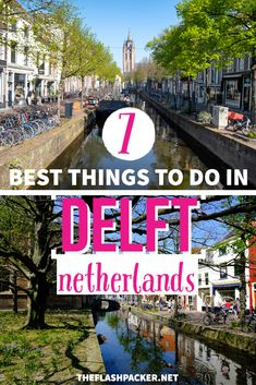 A Delft 1 day itinerary for when you only have 24 hours to explore Delft, Netherlands. Includes the best things to do in Delft, Netherlands,  tips on where to go and places to see, with beautiful Delft photography. A a must-read for anyone planning to travel to Delft or Netherlands | Netherlands travel | Day trips from Amsterdam #TheFlashpacker #netherlandstravel Day Trips From Amsterdam, Solo Travel, Travel Europe, Old Churches, Delft, Where To Go, Cool Places To Visit, Travel Guides, Netherlands