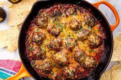 Tex-Mex Meatballs