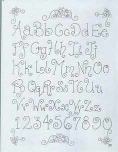 ^ This is a nice and swirly little alphabet to try. Hand Lettering Alphabet, Doodle Lettering, Creative Lettering, Lettering Styles, Calligraphy Letters, Brush Lettering, Cute Fonts Alphabet, Capital Alphabet, Doodle Alphabet