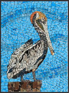 Pelican done with background | ungrouted. I think I'm going … | Flickr