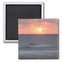 Sunrise on the Beach magnet Refrigerator Magnets Sold (6) customized copies