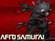 Afro Samurai Ninja Teddy Bear