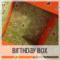 Care Package: Birthday Theme // Love From Home