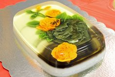 Edible gelatin art by Clara D'tapiero at Verano Multicultural: European roots in Latin America