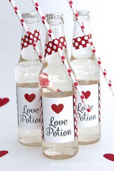Love Potion- free printables