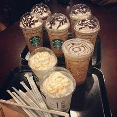 This about sums up with the squad goes to Starbucks. SORRY Starbucks! Bebidas Do Starbucks, Starbucks Drinks, Starbucks Coffee, Coffee Drinks, Coffee Dessert, Coffee Coffee, Coffee Break, Coffee Time, Yummy Drinks