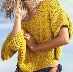 The peach skin : Foto Moda Crochet, Pull Crochet, Crochet Jacket, Crochet Cardigan, Knit Crochet, Summer Knitting, Crochet Woman, Crochet Clothes, Knitwear