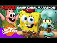 🔴 LIVE: Kamp Koral Back to School Marathon! 🤓✏️📚   Nickelodeon Cartoon Universe