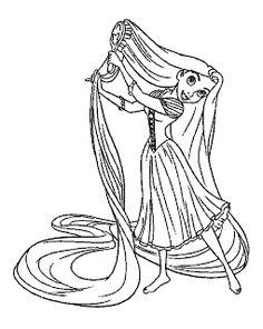 Színezők- kifestők  Aranyhaj színező kifestő (Tangled Rapunzel coloring  pages) c0f2ef0e09