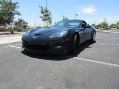 Chevrolet: Corvette Z06 Corvette Z06 6 speed black on black leather interior, MP3 single disc