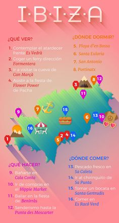 Los imprescindibles de tu viaje a The essentials of your trip to Ibiza Travel, Mexico Travel, Spain Travel, Time Travel, Places To Travel, Travel Destinations, Travel Directions, Travelling Tips, Traveling