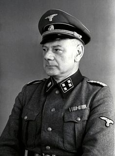 Eduard Krebsbach (8 August 1894 – 28 May 1947) was a former German physician and SS doctor in the Nazi concentration camp in Mauthausen from July 1941 to August 1943. Nicknamed 'Dr Spritzbach' (Dr Injection) by inmates. He was responsible for initiating mass killing by lethal injection to the heart on handicapped and sick prisoners. He was executed for crimes against humanity committed at the Mauthausen camp. Source: Wikipedia