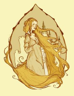 Rapunzel by *AbigailLarson on deviantART     (This is based of the original story)