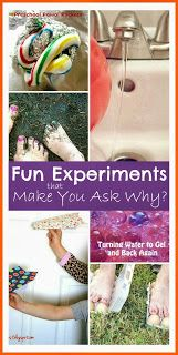 Mums make lists ...: Fun Science Experiments