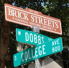 Brick Streets National Historic District, Tyler, Texas, established 2004