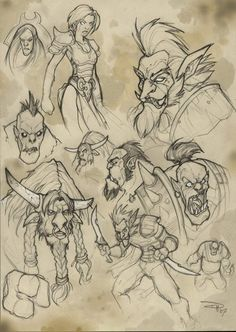World of Warcraft - Hordes by ~DenisM79 on deviantART