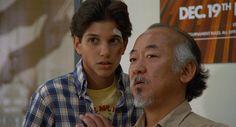 1984 - Karaté Kid - Ralph Macchio: Daniel LaRusso - Pat Morita: M. Kesuke Miyagi