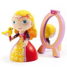 Djeco arty toys prinses en spiegel