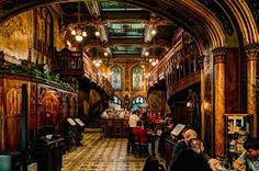 Caru cu Bere by Reiep on DeviantArt Caru cu Bere, one of the very best restaurants in Bucharest, Romania Peles Castle, Central University, Visit Romania, Black Church, Bucharest Romania, Indoor Swimming Pools, National Theatre, Architecture Old, Victorian Homes