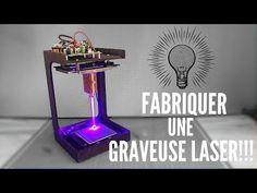 Diy Laser Engraver, Laser Engraving, Laser Machine, Cnc Machine, Arduino Projects, Electronics Projects, Graveuse Laser, Arduino Cnc, Laser Cut Screens