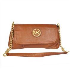 Michael Kors Brown Leather Crossbody Bag   Love this bag!
