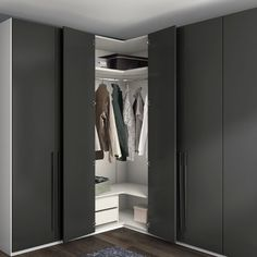 Five tips for a successful closet change operationFive tips for a successful closet change operation Fall is fast approaching and now is the time to change fear . Corner Wardrobe Closet, Wardrobe Design Bedroom, Wardrobe Furniture, Bedroom Bed Design, Bedroom Wardrobe, Home Room Design, Bedroom Furniture, Attic Closet, Bedroom Cupboard Designs