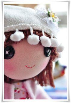 Aww! Little Strawberry Fabric Doll by LovelyHandmade, Etsy.