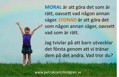 Moral/lydnad