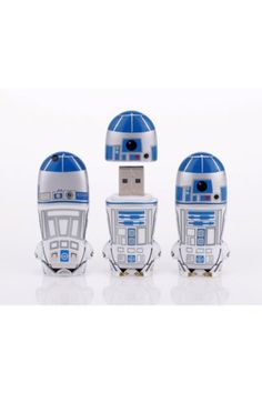 Mimobot R2-D2 MIMOBOT USB with Spacesuit Hoodie Keychain 8GB