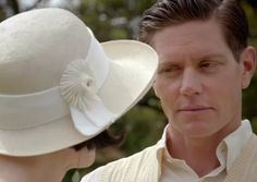 Phryne and Jack in the season 3 episode 'Game, Set and Murder'. Miss Fisher's Murder Mysteries.