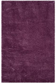Rug from Reno Shag collection. From Safavieh's Reno Collection, is a plush, deep purple shag constructed from power-loomed synthetic yarns for a posh detail for modern decor. Log Cabin Furniture, Rustic Furniture, Rustic Western Decor, Purple Area Rugs, Machine Made Rugs, Throw Rugs, Colorful Rugs, Colorful Wallpaper, Modern Classic