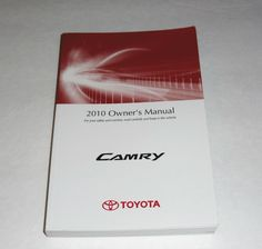 2010 toyota corolla matrix owners manual book guide owners manuals rh pinterest com toyota hilux manual book toyota hilux manual book