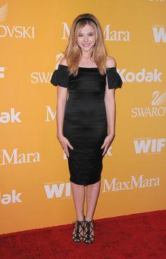 Women In Film Crystal + Lucy Awards - Chlöe Moretz - MaxMara dress