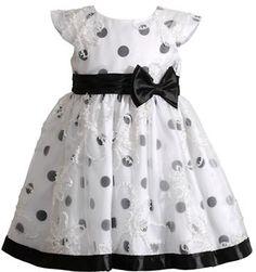 Sweet Heart Rose SWEETHEART ROSE Girls 2-6x Floral Soutache & Polka Dot Occasion Dress on shopstyle.com