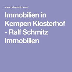 Immobilien in Kempen Klosterhof - Ralf Schmitz Immobilien