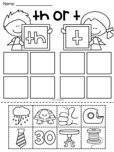 Digraph Printables Digraphs Worksheets Word Study Activities Letter Sound Activities