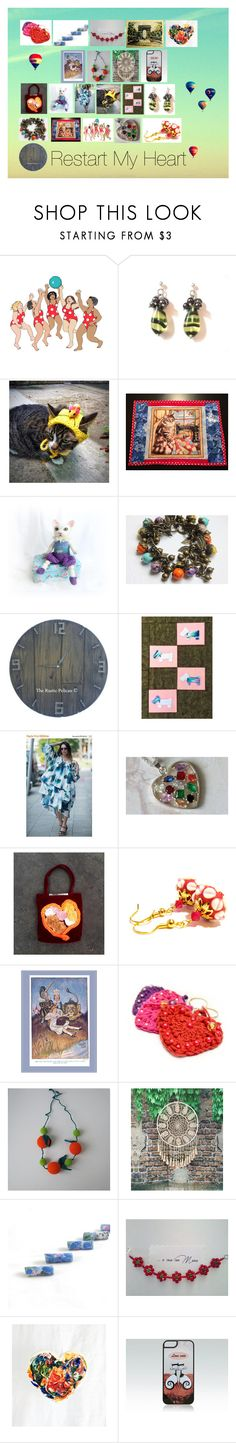 """""""Restart My Heart: Romantic Gift Ideas"""" by paulinemcewen ❤ liked on Polyvore featuring Hostess, rustic, vintage and country"""