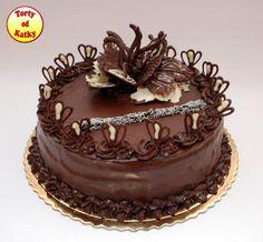 Chocolate Garnishes, Birthday Wishes Cake, Cake Decorating Designs, Cakes And More, Biscotti, Tiramisu, Sweet Tooth, Goodies, Ale