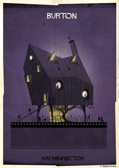Burton's house <3