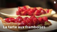 Découvrez notre recette facile pour préparer une tarte aux framboises.