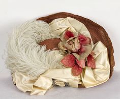 Edwardian Clothing at Vintage Textile: #7363 wide brim hat