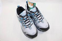 Gravity Defyer Orbit Running Sneakers Gray Sky Blue Size 7.5 Comfort RETAIL $129 #GravityDefyer #RunningCrossTraining