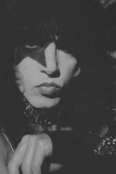 Paul Stanley - KISS (Band) / Black & White Photography