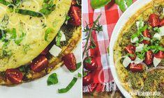 Pesto-Omelette