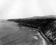 Palos Verdes coast circa 1930's.