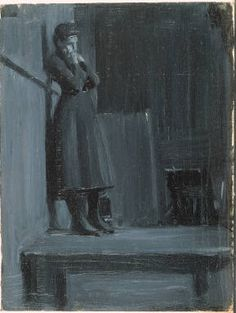 """dappledwithshadow: """" Early works by Edward Hopper, Here is a great source for many works of Hopper's that I've never seen before - I haven't quite hacked it yet (just found it today), so. Edward Hopper, American Realism, American Artists, Figure Painting, Painting & Drawing, Gouache, Ashcan School, Portraits, Whitney Museum"""