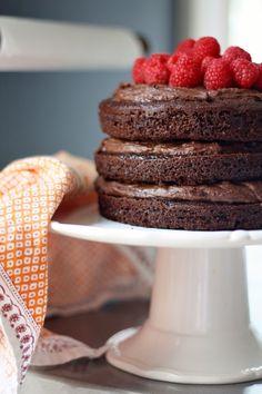 Hazelnut Chocolate Mousse Cake Recipe
