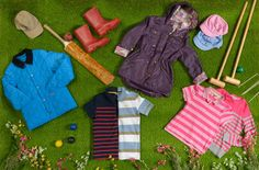 Spring #stripes and #brights from our new season #childrens collection!     #2013 #spring #summer #fashion #kids #Barbour