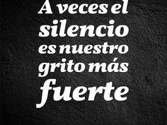 El silencio - Taringa!
